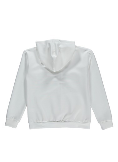 Hummel Hummel 9209929973 Fermuarlı Çocuk Sweatshirt Beyaz